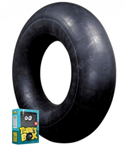 Tube in a Box, Original and Best Swim and Snow Inner Tube, Snow Tubes