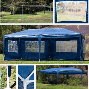 Wedding Canopy Belleze 10'x20' Feet, Canopy Tent w/ 4 Removable Side Wall Party Wedding Cater Event