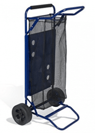 Beach Cart with Folding Table / Drink Holders by BeachMall