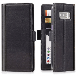Galaxy Note 8 Wallet Case Leather