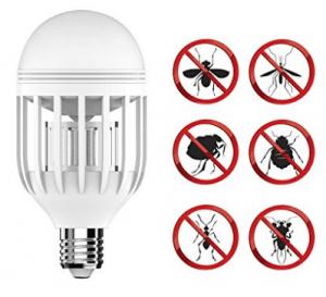 Bug Zapper Light Bulb with LED light bulb, Fly Killer