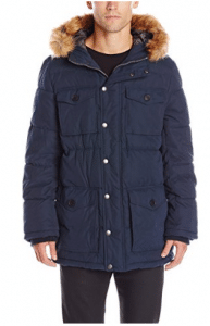 Tommy Hilfiger Men's Micro Twill Full-Length Hooded Parka Coat - Parka Jackets for Men