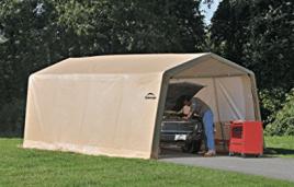 ShelterLogic Model 62680 Instant Garage AutoShelter 10 x 20- Feet