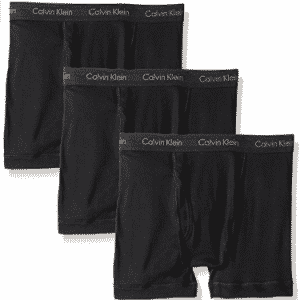 Calvin Klein Men's Underwear Cotton Classics 3 Pack Boxer Briefs