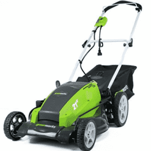 GreenWorks 25112 13 Amp 21-Inch Corded Lawn Mower, Push Lawn Mowers
