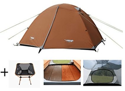 Luxe Tempo Lightweight 4 Person Tent Freestanding for Backpacking u2013 4 Person Tents  sc 1 st  5productreviews : best 4 man tent - memphite.com