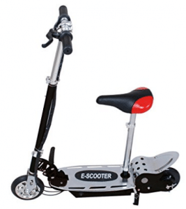 Maxtra Electric Scooters Motorized Scooter bike Black for kids - Electric Scooter for Kids