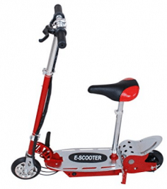 177lbs Weight Load E120 24V Electric Scooter With Seat Motorized bike for kid, Electric Scooter with seats