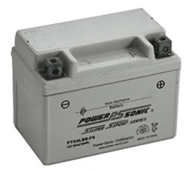 Power-Sonic (PTX4LBS-FS) Sealed Maintenance Free Powersport Battery, Best Scooter Batteries