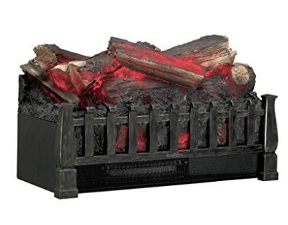 Duraflame DFI021ARU Electric Log Set Heater with Realistic Ember Bed, Fireplace Inserts