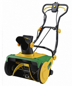 "Homegear 20"" Professional 13 Amp Corded Electric Snow Thrower- Electric Snow Shovel with Wheels"