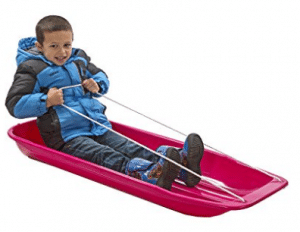 Lucky Bums Snow Kids Toboggan Sled