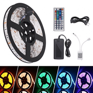 Boomile LED Light Strip 16.4ft Waterproof SMD 5050 300 LEDs - LED Christmas lights