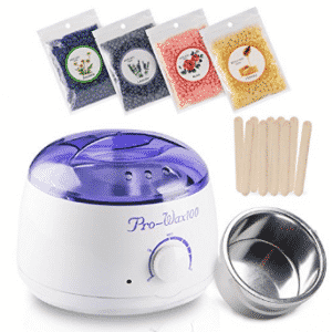 Hair Removal Wax Warmer Electric Wax Heater Hard Wax Kit with Wax