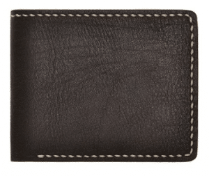 ZLYC Minimalism Handmade Vegetable Tanned Leather Slim Billfold Sleeve Wallet