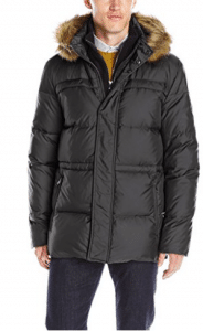 Marc New York by Andrew Marc Men's Tundra Down Parka with Fleece Bib