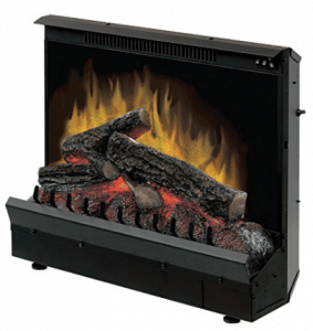 Dimplex DFI2310 Electric Fireplace Deluxe 23-Inch Insert, Fireplace Inserts