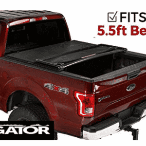 Gator Tri-Fold Tonneau Truck Bed Cover Ford F-150 2015, Truck Bed Covers