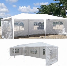 10'x30' Party Wedding Outdoor Patio Tent Canopy Gazebo Pavilion Event Canopies