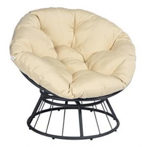 Art To Real Papasan Chair Cushions, Deluxe 360 Swivel Papasan Chair With  Soft Cushion