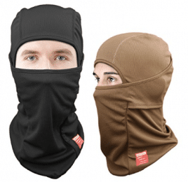 Dimples Excel Balaclava Motorcycle Tactical Skiing Face Mask [2-PACK] - Winter Face Masks