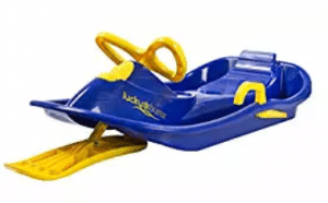 Lucky Bums Plastic Racer Sled, 40-Inch