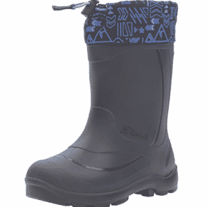 Kamik Snobuster2 Snow Boot, Charcoal/Lime, 1 M US Little Kid - Boys Snow Boots