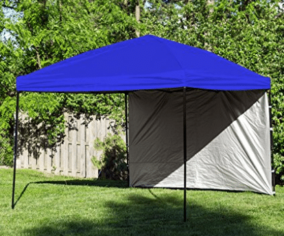 Pop Up Canopy Tent with Sidewall 10 x 10 Feet