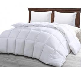 Utopia Bedding Ultra Plush Hypoallergenic, Siliconized fiberfill