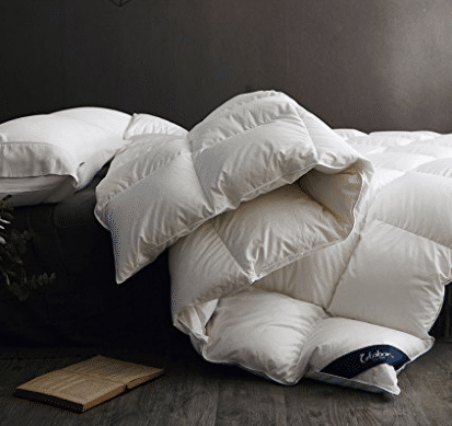 Globon Fusion White Goose Down Comforter King Heavywarmth Winter - Goose Down Comforters