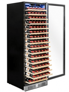 Akdy Freestanding Single Zone Wine Cooler 171 Bottles