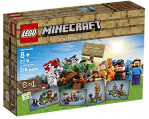 lego minecraft crafting box best christmas gift for 8 year old boy