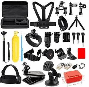 Soft Digits Accessories Kit for GoPro Hero