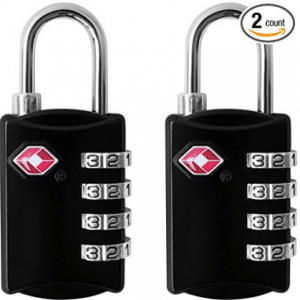 ORIA Luggage Lock, Travel Lock, TSA Approved Luggage Locks