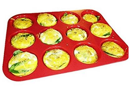 Keliwa 12 Cup Silicone Muffin - Cupcake Baking