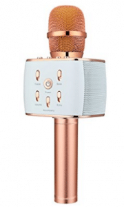 Upgraded BONAOK Wireless Bluetooth Microphone Karaoke