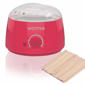 WONNIE Wax Warmer Pot for Hair Removal Electric Wax Beans Melts Machine