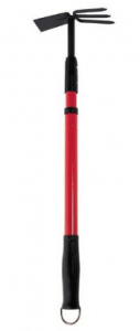 Bond LH016 Culti-Hoe With Telescopic Handle & Non-Slip Grip - Garden Hoes