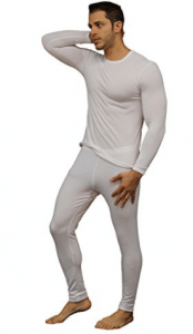 Men's Ultra Soft Thermal Underwear Long Johns Set with Fleece Lined - Men's Long Underwear