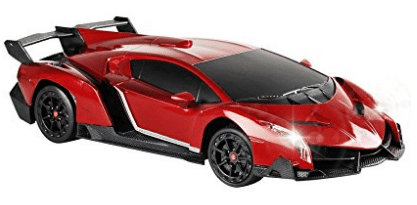 RC Cars, QUN FENG Electric RC Car-Lamborghini Veneno Radio Remote Control Vehicle Sport Racing Hobby Grade Licensed Model Car
