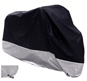 XYZCTEM All Season Black Waterproof Sun Motorcycle Cover - Motorcycle Covers