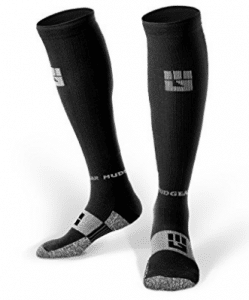 MudGear Compression Socks - Men's and Women's Running Socks Made in USA for Outdoor Sports Performance & Recovery
