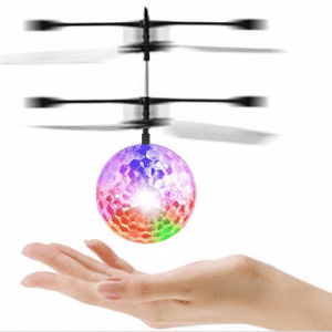 YKS RC Toy, RC Flying Ball, RC infrared Induction Helicopter Ball Built-in Shinning LED Lighting for Kids