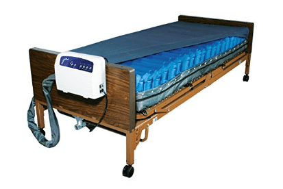 Drive Medical Med Aire Low Air Loss Mattress Replacement System with Alarm