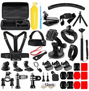 Soft Digits 50 in 1 Action Camera Accessories Kit for GoPro
