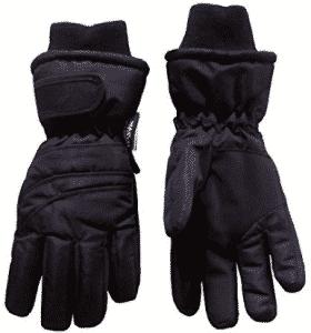 N'Ice Caps Kids Bulky Thinsulate Waterproof Winter Snow Ski Glove With Ridges