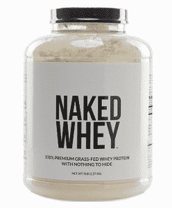 NAKED WHEY 5LB #1 Undenatured 100% Grass Fed Whey Protein Powder