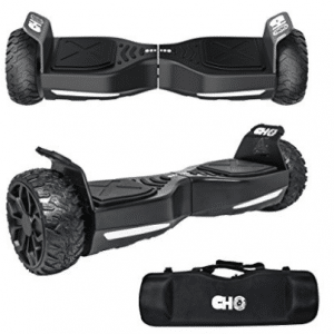 CHO[TM] All Terrain Rugged 6.5 Inch Wheels Hoverboard Off-Road Smart Self Balancing Electric Scooter With built