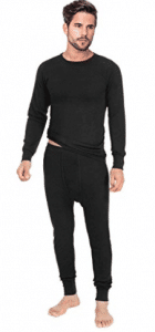 Rocky Men's Thermal 2pc Set Long John Underwear Smooth Knit - Men's Long Underwear