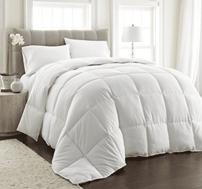 Chezmoi Collection White Goose Down Alternative Comforter - Goose Down Comforters